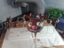 Rudolf das Rentier - Cake Pops - Rezept