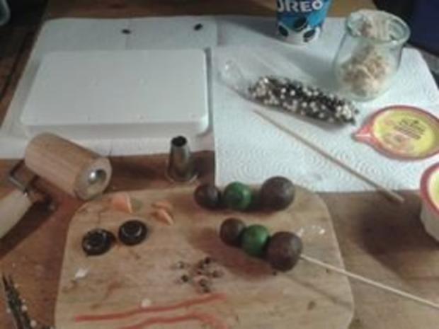 Schneemänner - Cake Pops - Rezept - Bild Nr. 2
