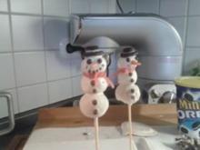 Schneemänner - Cake Pops - Rezept