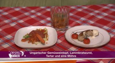 Ungarischer Gemüseeintopf, Lammbratwurst und frisches Tartar (Lady Bitch Ray) - Rezept