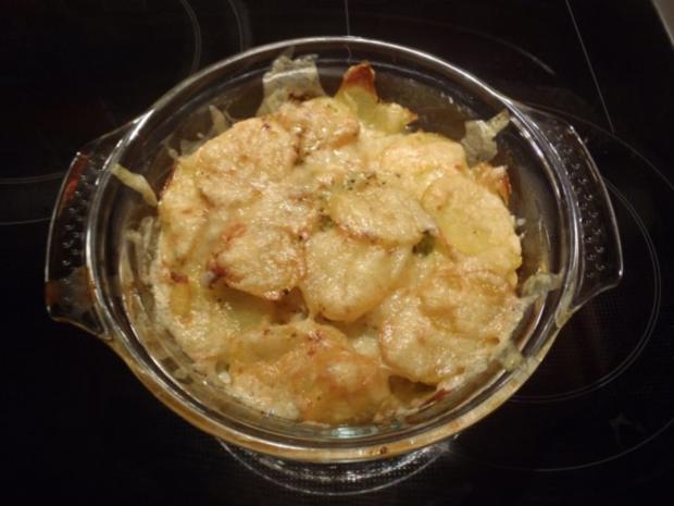 Vegetarischer Kartoffel-Wirsing-Auflauf - Rezept