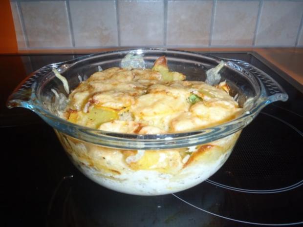 Vegetarischer Kartoffel-Wirsing-Auflauf - Rezept - Bild Nr. 2