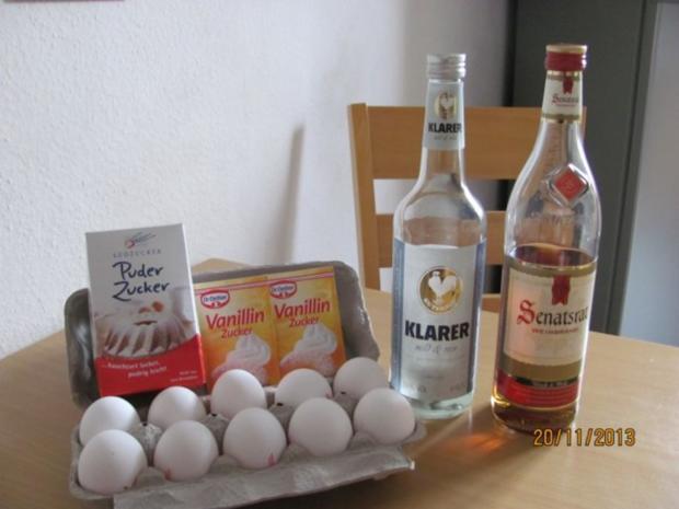 Eierlikör - Rezept