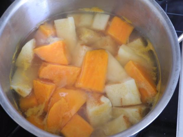 Vegan : Krautgulasch mit Süßkartoffeln und Pastinaken - Rezept - Bild Nr. 11