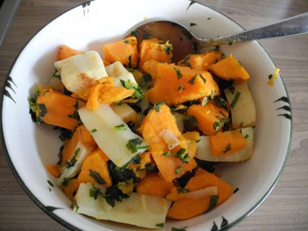 Vegan : Krautgulasch mit Süßkartoffeln und Pastinaken - Rezept - Bild Nr. 13