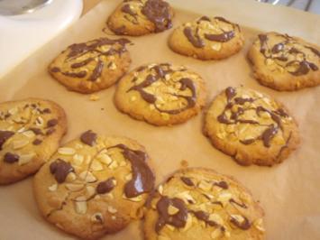 Peanut Cookies / Erdnuss Kekse - Rezept