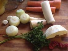 Schnelle Fleischbrühe - Rezept