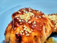Sticky Chicken - Rezept