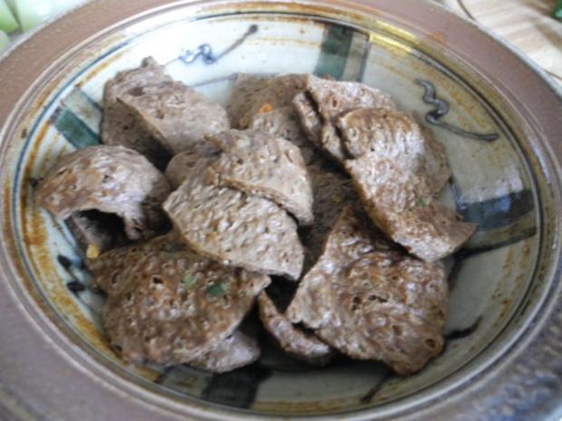 Vegan : Soja - Gulasch an Gemüse - Rezept - Bild Nr. 9