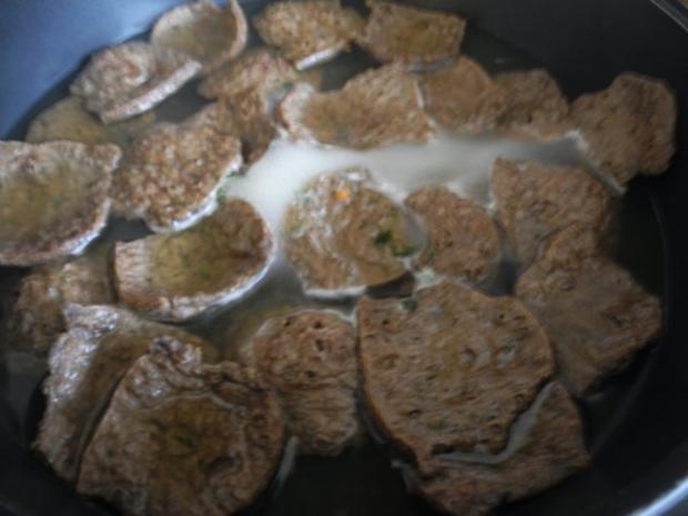 Vegan : Soja - Gulasch an Gemüse - Rezept - Bild Nr. 6