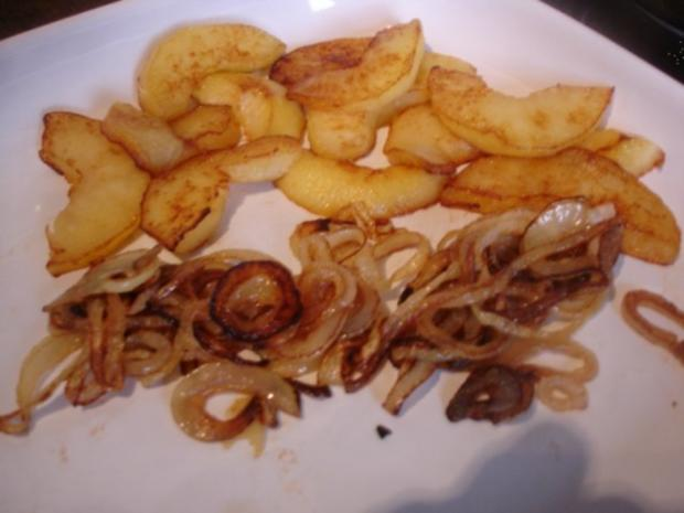 Kalbsleber nach Berliner Art mit Kartoffelpüree - Rezept - Bild Nr. 7