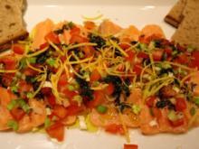 Lachs-Ceviche - Rezept