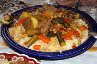 Rezept: Couscous mit Rindfleisch und Gemüse