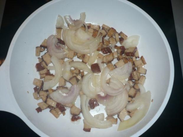 Pellkartoffeln, Tofupfanne, Rohkost - Rezept - Bild Nr. 4