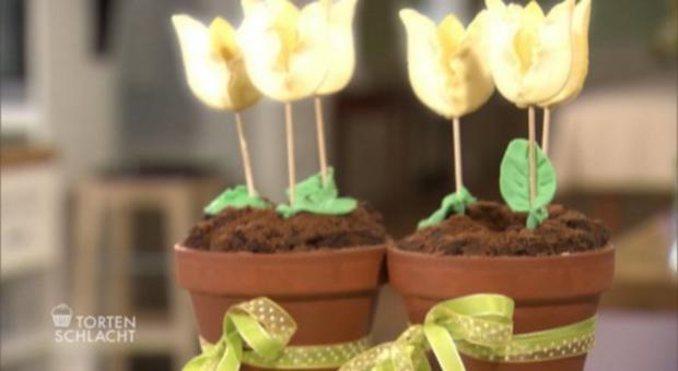 Russischer Zupfkuchen im Blumentopf (Charleen Utecht ) - Rezept