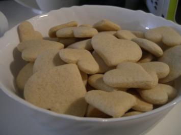 Ingwer-Herzen - Rezept