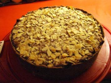 Schoko-Käse-Kuchen mit Äpfeln - Rezept