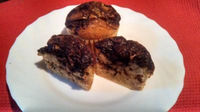 """Muffin """" Choco / Chili swirl """" - Rezept"""