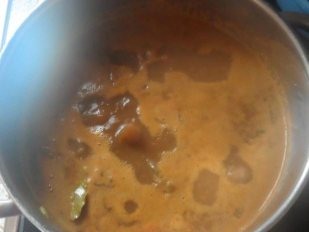 Winterliches Rindfleisch-Ragout in Honig-Pflaumen-Soße - Rezept - Bild Nr. 9