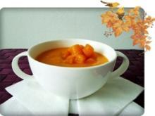 Butternut - Kürbis  Cremesuppe - Rezept