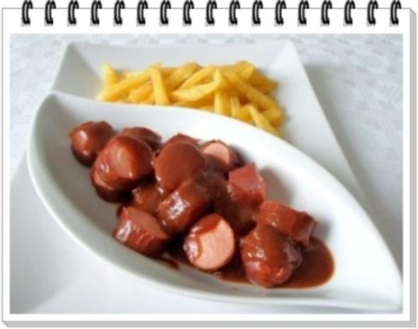 Currywurst natürlich mit selbstgemachter Pommes  und Currysauce. - Rezept - Bild Nr. 2