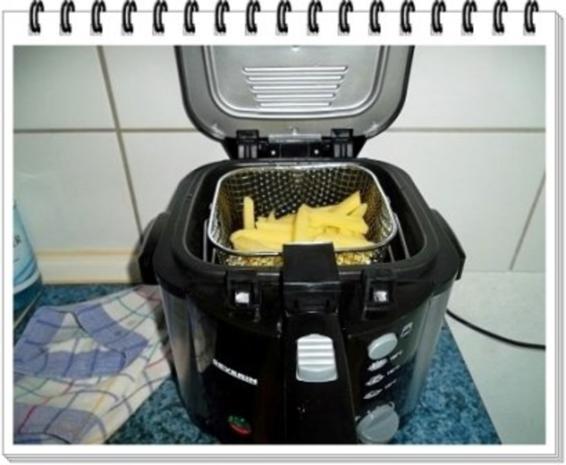 Currywurst natürlich mit selbstgemachter Pommes  und Currysauce. - Rezept - Bild Nr. 14
