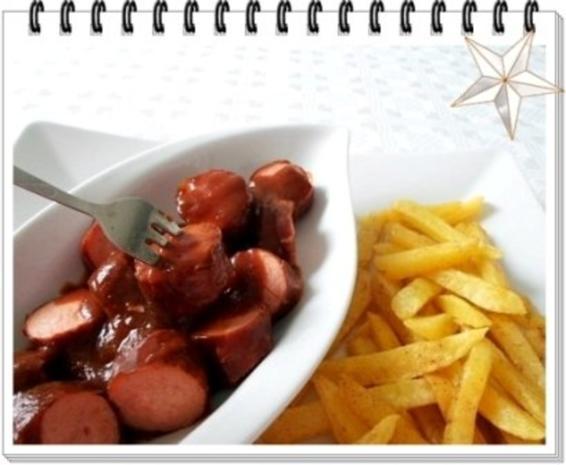 Currywurst natürlich mit selbstgemachter Pommes  und Currysauce. - Rezept - Bild Nr. 21