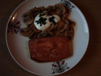 Champignongemüse mediterran - Rezept