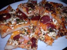 Sucuk Pizza - Rezept