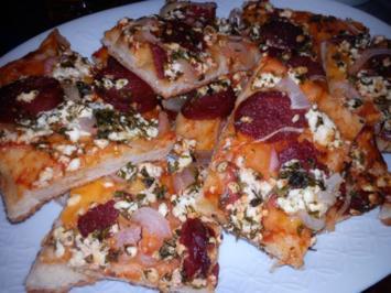 Rezept: Sucuk Pizza