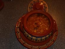 Reistopf mit Hülsenfrüchte - Rezept