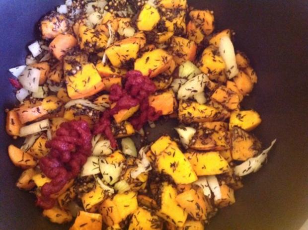 Kürbis-Gemüse mit Hirse - Rezept - Bild Nr. 6