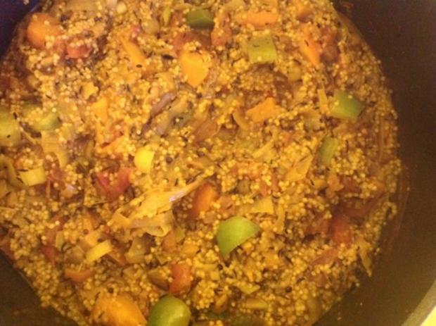 Kürbis-Gemüse mit Hirse - Rezept - Bild Nr. 9