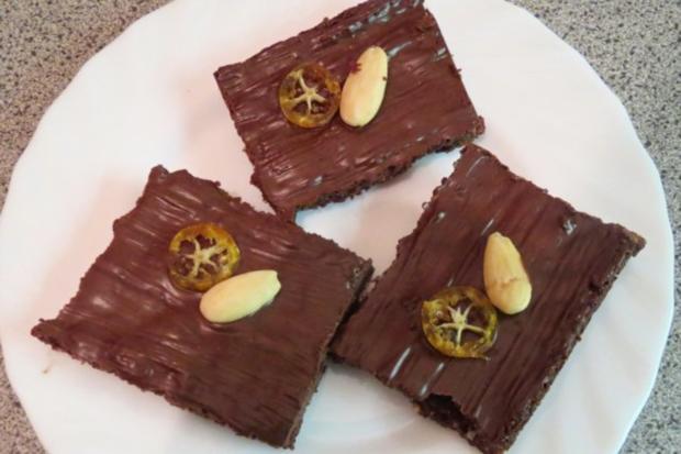 Backen: Mini-Schokoladenkuchen vom Blech - Rezept