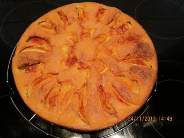 Mel´s versunkener Apfelkuchen mit Zimt - Rezept