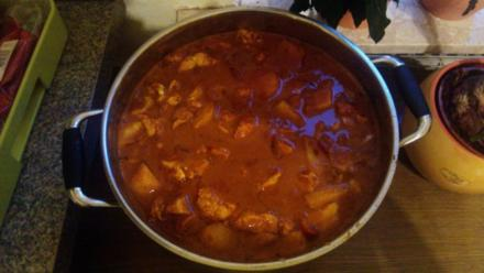 Curry Tikka Masala Party Topf - Rezept