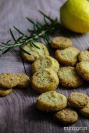 Zitronen-Rosmarin-Taler - Rezept