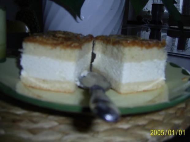 Kuchen: Bienenstich mit Vanille-Creme-Füllung - Rezept - Bild Nr. 2