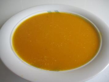 Kürbissuppe - Rezept
