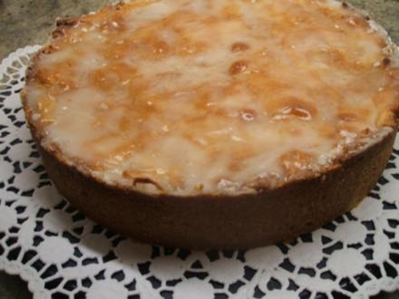 Backen: Gedeckter Apfelkuchen - Rezept
