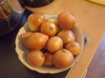 Slow Food: Eingekochte Zwiebeln - Rezept