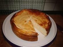 Omas Käsekuchen - mit oder ohne Boden - Rezept