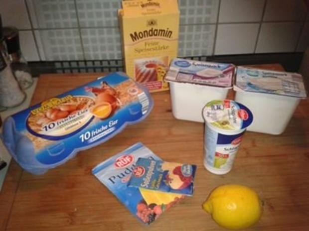 Omas Käsekuchen - mit oder ohne Boden - Rezept - Bild Nr. 2