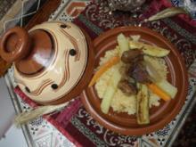 Lamm-Tajine mit Couscous - Rezept