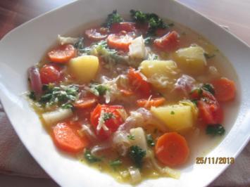 Gemüse-Suppe - Rezept