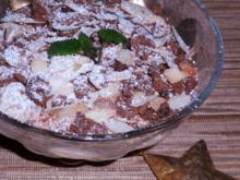 Dessert: Weihnachtliche Spekulatius-Pfirsich-Creme - Rezept