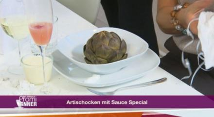 """""""Herzen unter Schock mit Soße Spezialo"""" – Artischocken mit Sauce Special (Birgit Stein) - Rezept"""