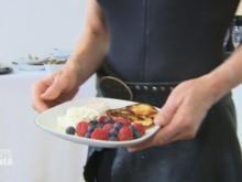 Steini-Pancakes mit Schnick-Schnack (Birgit Stein) - Rezept