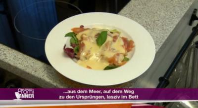 Schottischer Räucherlachs im Salatbett (Maxi Biewer) - Rezept