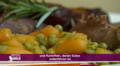 Lamm mit Kräuterkruste im Römertopf (Maxi Biewer) - Rezept